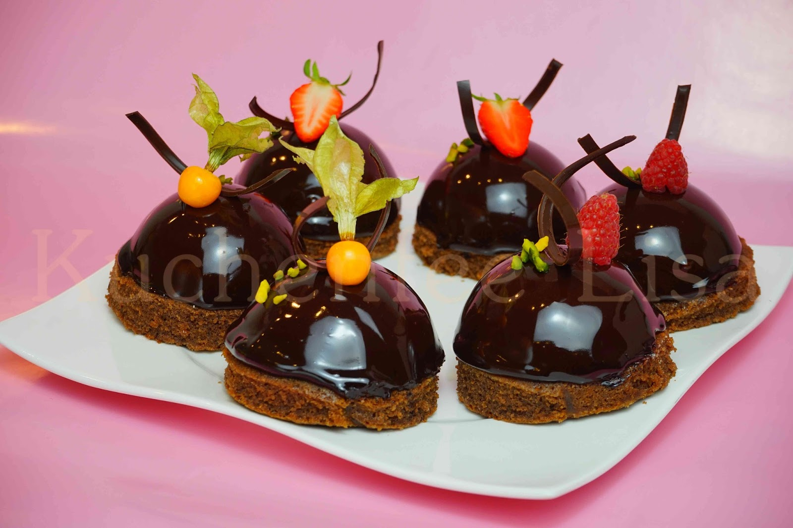 Kuchenfee Lisa Ganache ~ weisse mokkamousse törtchen u2013 kuchenfee lisa