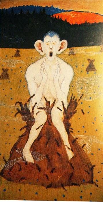 Geada - Hugo Simberg e seus simbolismos ~ O artista ansiava por solidão e paz