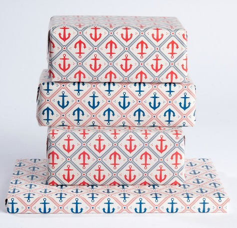 Anchor Gift Wrapping Papers