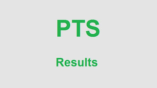 PTS Results 2018 Online - Pakistan Testing Service Result Announced Today