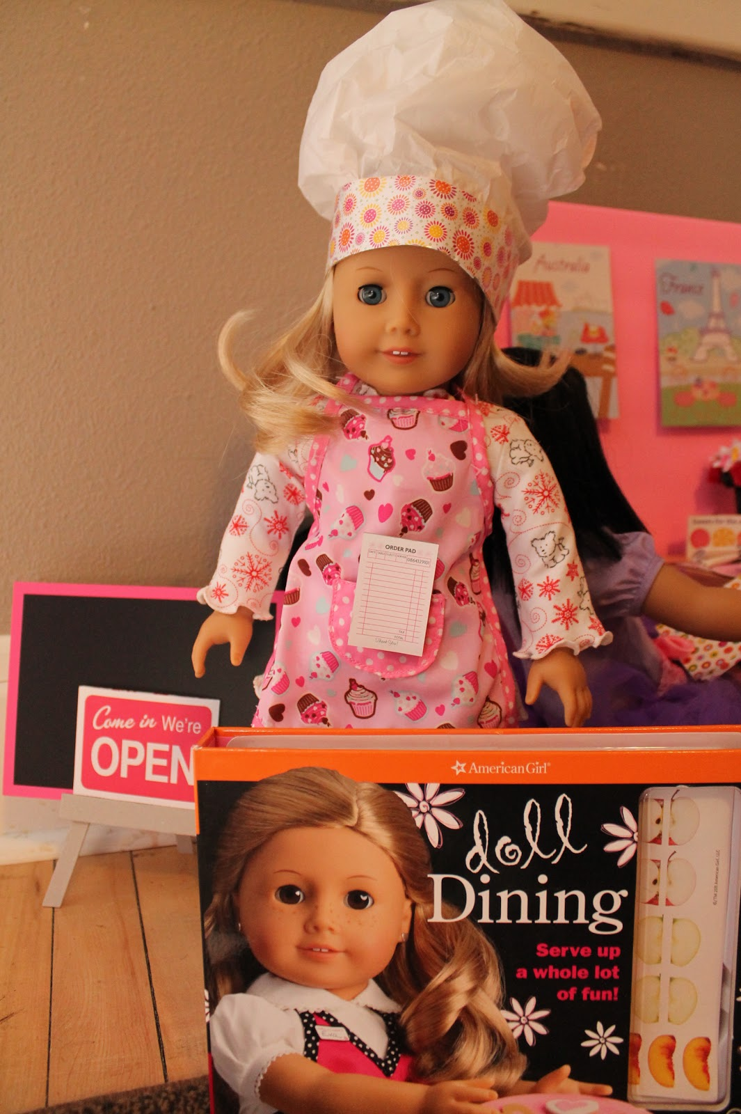 American Girl Doll Play Creating An American Girl Doll Diner