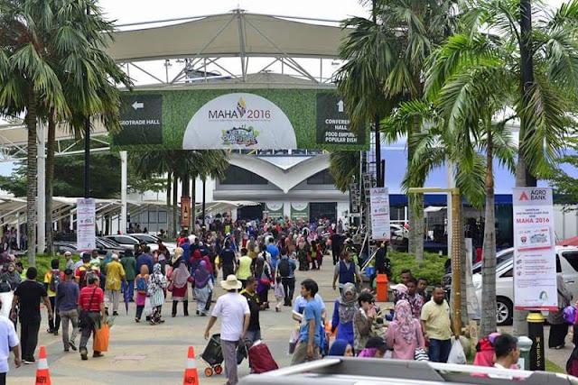 Maha 2016, Pameran Antarabangsa Pertanian, Hortikultur dan Agro Perlancongan malaysia, gambar sekitar Pameran MAHA 2016,