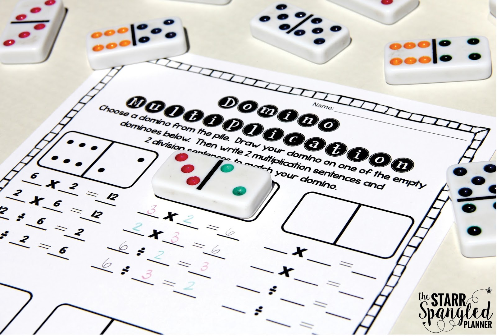 10 Multiplication Math Center Games Amp Activities