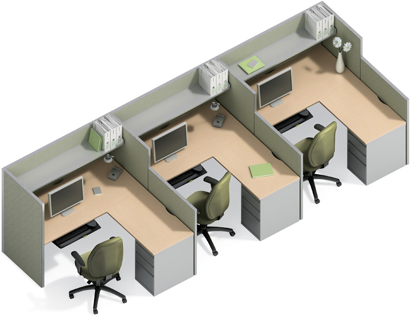 Cubical Workstation (Meja Kerja Plus Partisi ) - METRO ...