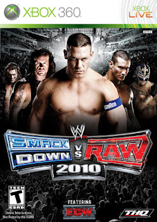 WWE SmackDown vs. Raw 2010 (X-BOX360)