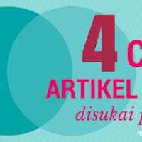 4 Cara membuat artikel menarik dan disukai pembaca