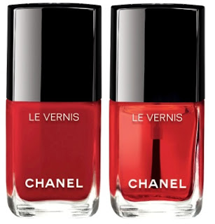 Chanel Fall 2016 Le Rouge Collection No 1 nails - with swatches!