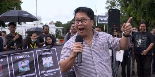 Diduga Hina TNI, Aktivis Robertus Robet Ditetapkan Jadi Tersangka