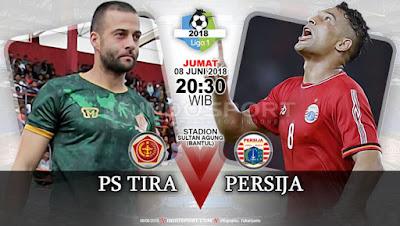 Hujan Goal, Persija 5 Vs 0 PS Tira Liga Go-jek 1