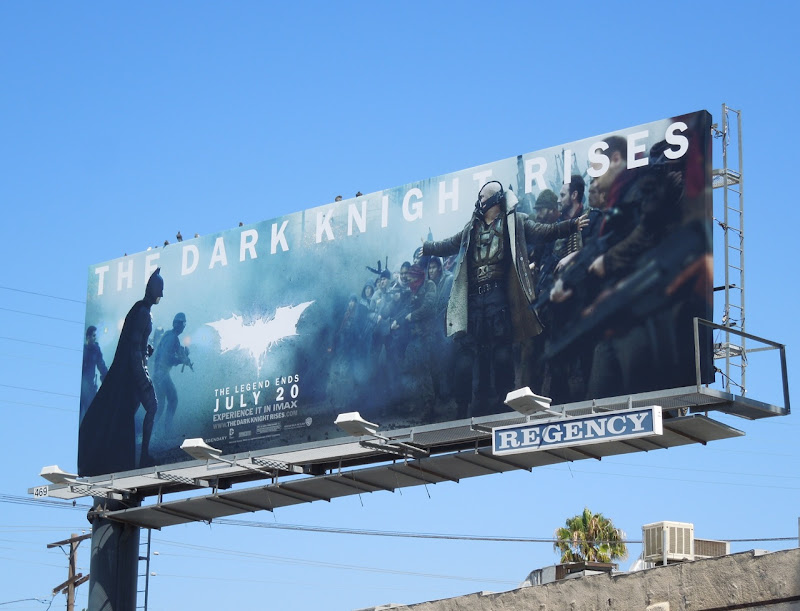 Dark Knight Rises billboard