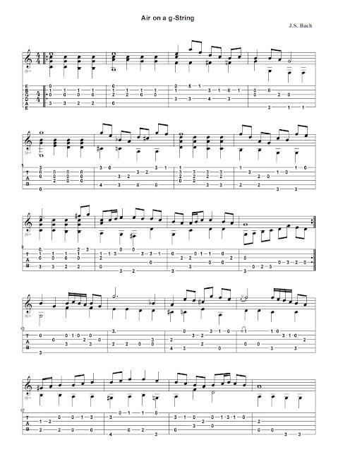 Johann Sebastien Bach - Air on a G-String