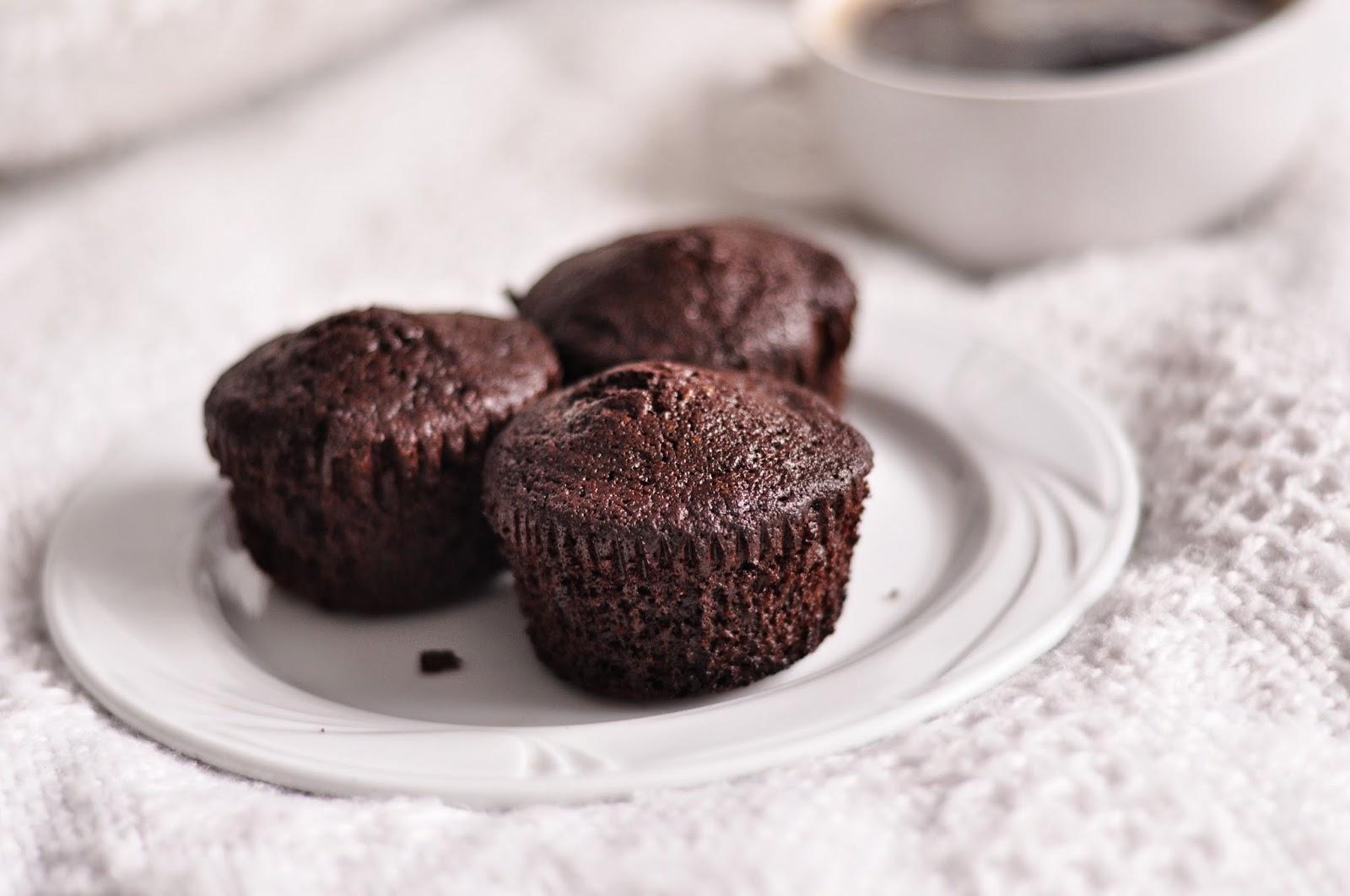 Pistacjowe czekoladowe babeczki bez mąki | bezglutenowe