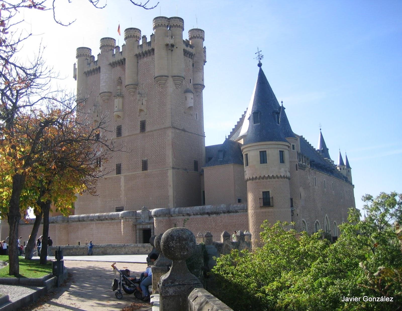Ruta de Isabel. Alcázar de Segovia