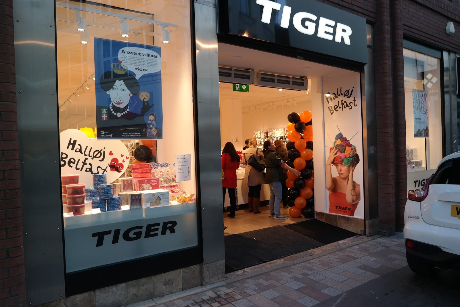NEW STORE TIGER OPENS IN BELFAST  Eyelinerflicks