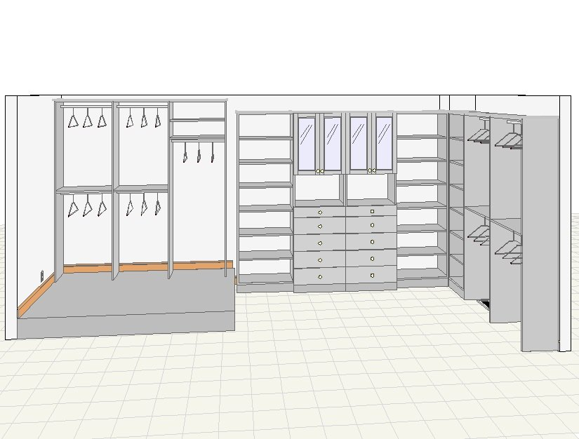 Closets For Life 3d Closet Drawings So Real You Might Try