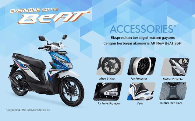 Fitur dan Spesifikasi Umum Motor Honda Beat ESP