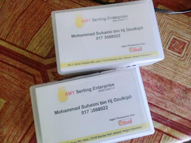 Promosi Kad Bisnes RM55 Je Untuk 3 Kotak