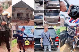 "I Bought My Father A Highlander Car, Myself A Mercedes Benz, Built A House, My Girlfriend Is Pregnant For Me"" – 20 Yearr-old Nigerian Boy Lists His 2018 Achievements, To Inspire Other Youths (Photos)"