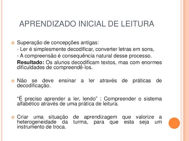 Práticas de Leitura e Práticas de Produção de texto