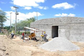 Reiniciada obra de construção do Biotério do campus Cuité da UFCG