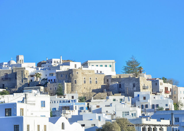 Venetian Castle in Naxos Greece