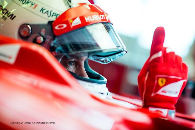 Mobil Diperbarui, Ferrari Masih di Belakang Mercedes, Tapi Vettel Puas