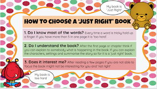 How to pick a 'Just Right' Book