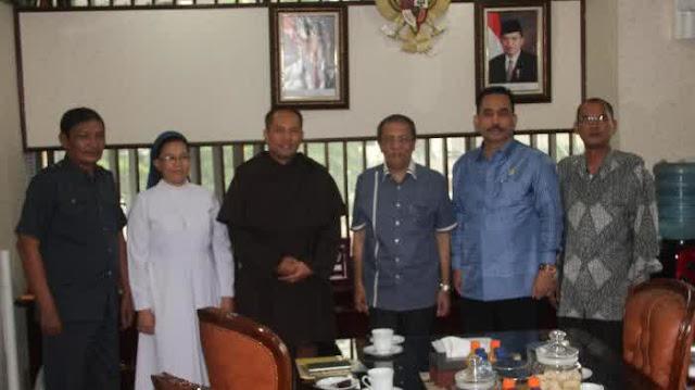 Gedung Katolik Center Terbesar di Indonesia Dibangun di Medan