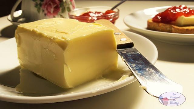 mantequilla casera sin lactosa