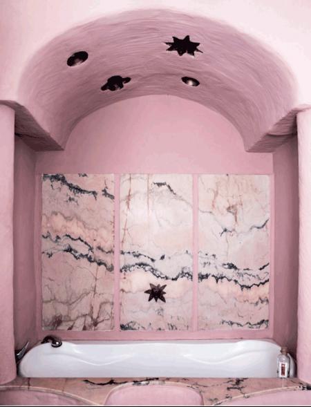 bano rosa de inspiracion arabe chicanddeco