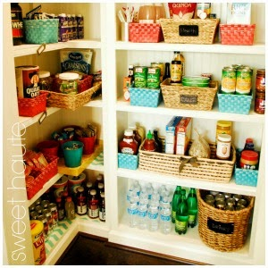 Pantry Organization Fit and HAPPY