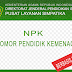 Ketentuan Penerbitan NPK (Nomor PTK Kemenag)