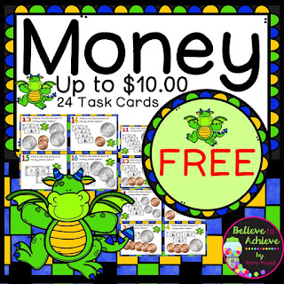 Money FREE Task Cards