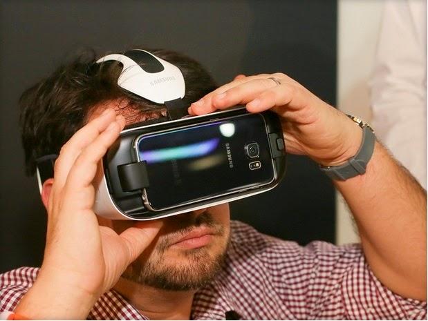جديد سامسونغ : Gear VR المتوافق مع Galaxy S6 و Galaxy S6 Edge
