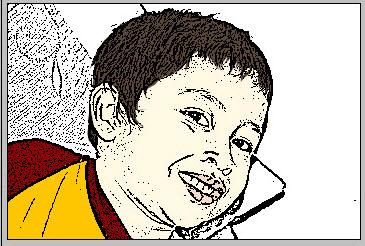 Edit foto menjadi kartun