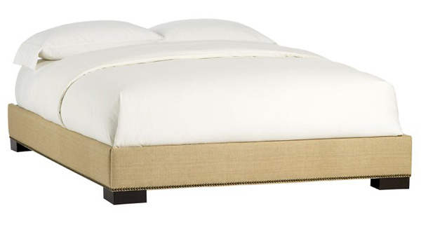Remodelaholic | Upholstered Headboard & Bed Frame