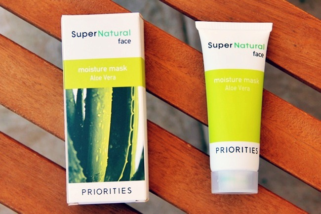 Sephora SuperNatural aloe vera face mask