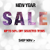Celebrate New Year with Latest Online Deals
