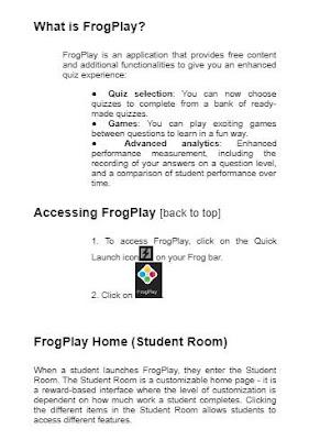 program vle frog di sekolah, frog vle, frogplay, aplikasi FrogPlay, buddies di dalam frogplay, frog revise, student room di dalam frogplay