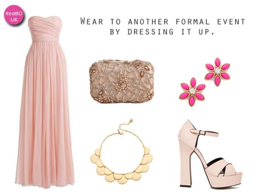 wear again Long Bridesmaid Dress