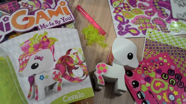 Mattel, Assessoria de Imprensa, Recebido, Brinquedos, Imaginação, PenDrive, AmiGami, Coelhos, Cavalo, Crianças, Animais,
