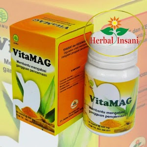 Kapsul Vitamag Herbal Insani
