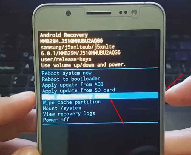 Cómo resetear Samsung Galaxy J5 metal