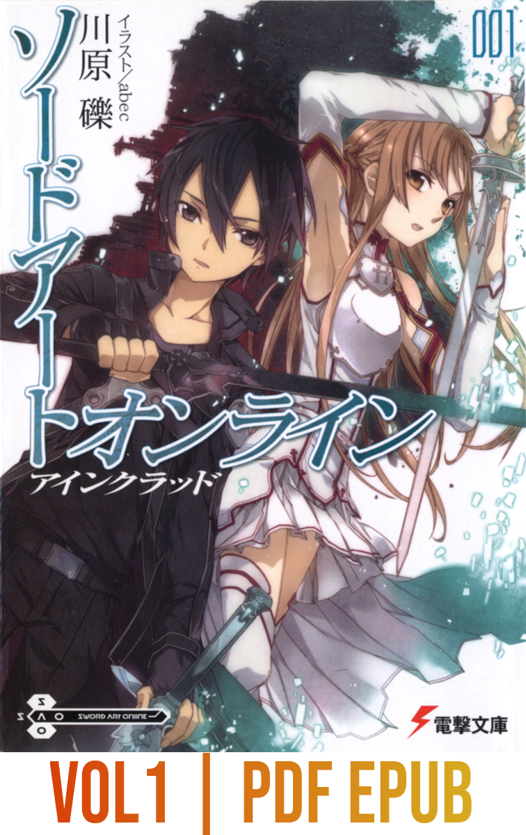 Sword art Online Light Novel Vol 1-21 Indonesia PDF EPUB