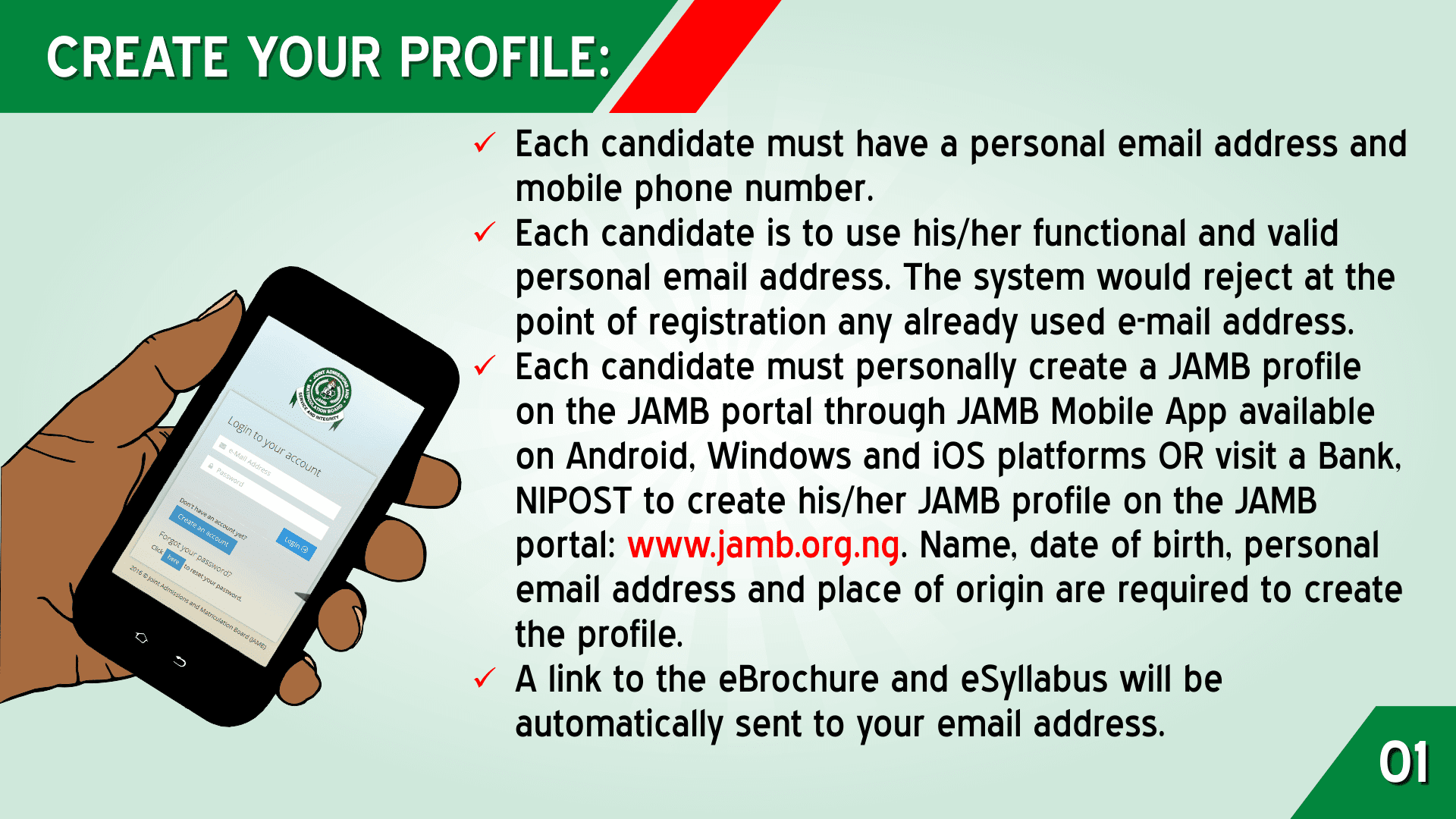 JAMB 2021 Top 5 UTME & DE Registration Tips [PHOTOS]