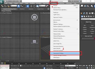 cara mengaktif sumbu xyz pada 3ds max - desain rumah minimalis