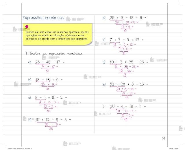 Caderno Do Futuro 5 Ano Matematica