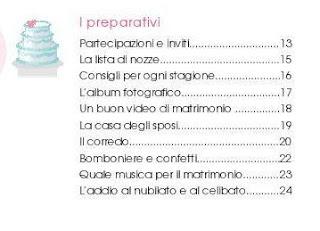 organizzare un matrimonio I PREPARATIVI manuale pdf gratis