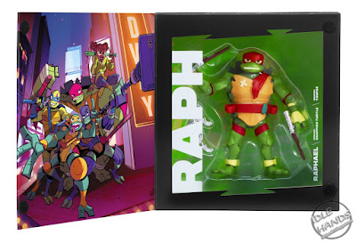 SDCC 2018 Playmates Rise of the Teenage Mutant Ninja Turtles Exclusive Figures