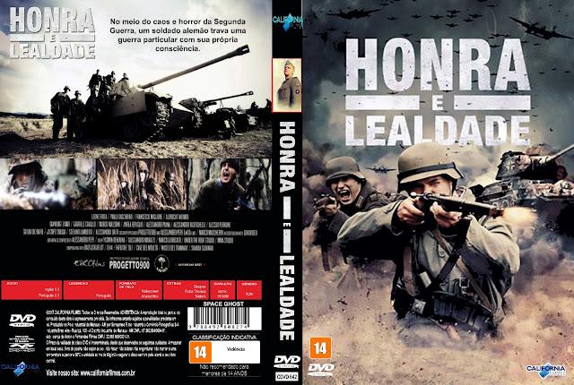 Capa DVD Honra E Lealdade
